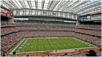 NRG Stadium, Houston, TX Source: Wikipedia